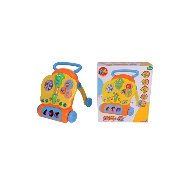 ABC Baby Lära-gå-vagn med ljud och ljus