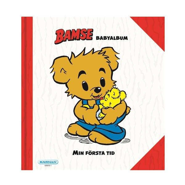 Kärnan Bamse Mitt första år babyalbum