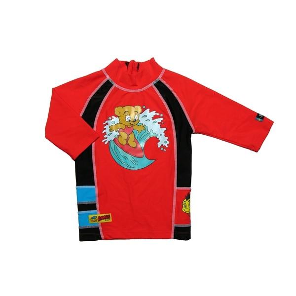 Swimpy UV tröja Nalle Maja Röd